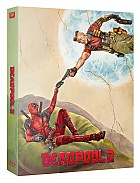 FAC #107 DEADPOOL 2 Double Lenticular 3D (Front and Back) FullSlip XL  EDITION #3 WEA EXCLUSIVE Steelbook™ Limitovaná sběratelská edice - číslovaná (4K Ultra HD + 3 Blu-ray)
