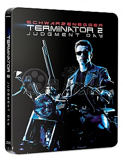 FAC #110 TERMINÁTOR 2: Den zúčtování J-CARD EDITION #4 GLOW IN THE DARK EFFECT 4K Ultra HD Steelbook™ Prodloužená verze Digitálně restaurovaná verze Limitovaná sběratelská edice - číslovaná
