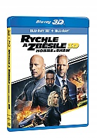 RYCHLE A ZBĚSILE: HOBBS A SHAW (Blu-ray 3D + Blu-ray)