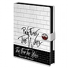 ZÁPISNÍK PINK FLOYD - The Wall A5 (Merchandise)