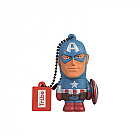 USB FLASH DISK CAPTAIN AMERICA 16 GB (Merchandise)